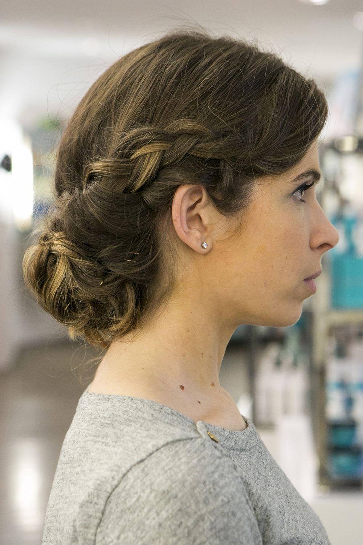 Step eight braided chignon for brunch hair pinterest chignons