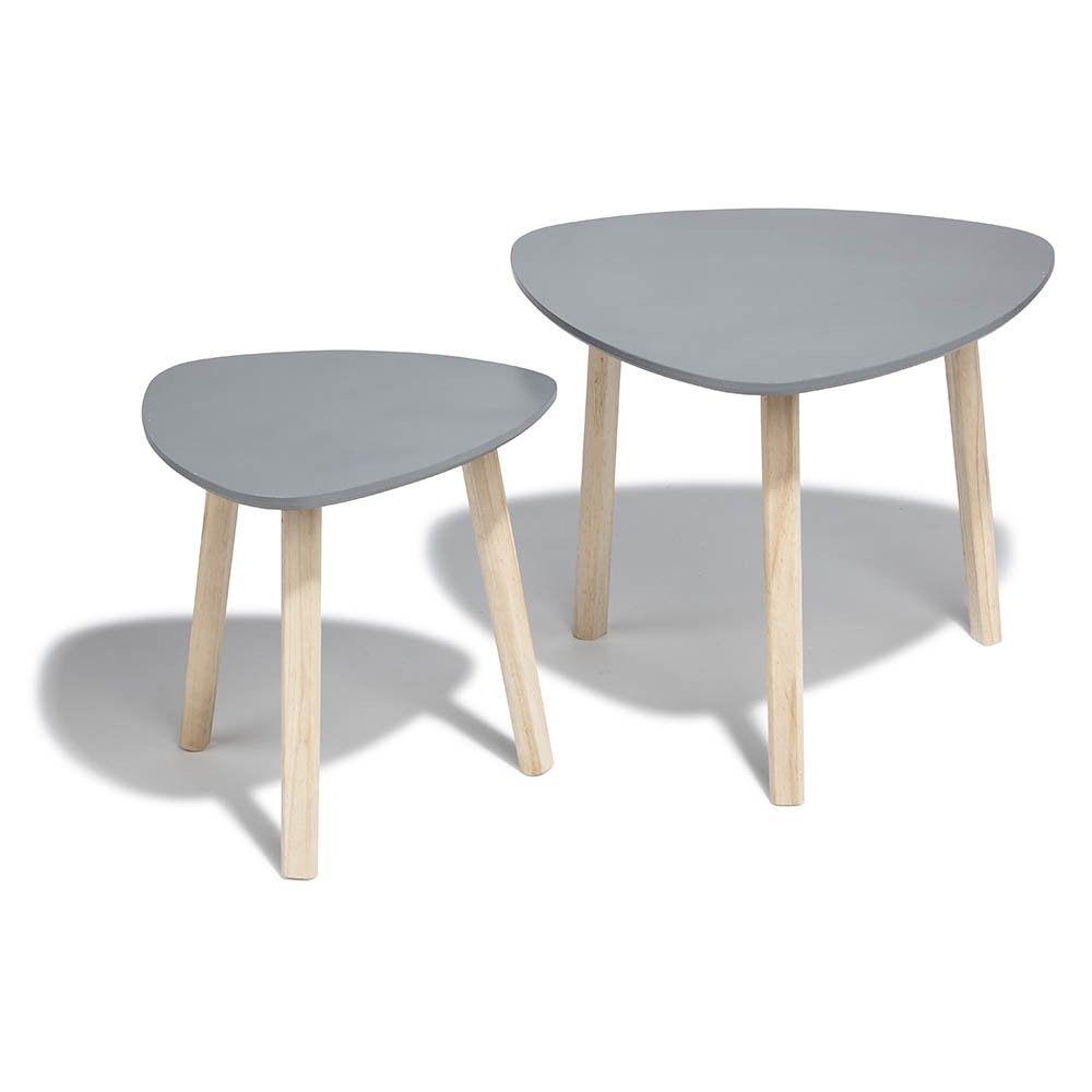 Soldes 2020 Bout De Canape Anthracite Emma X 2 Table Basse Et D Appoint Salon Meuble Gifi Bout De Canape Meuble Gifi Table Basse