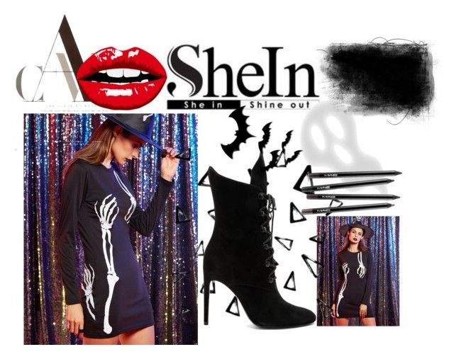 """Skeleton"" by zenfira-memmedli ❤ liked on Polyvore featuring Nika and Kendall + Kylie"