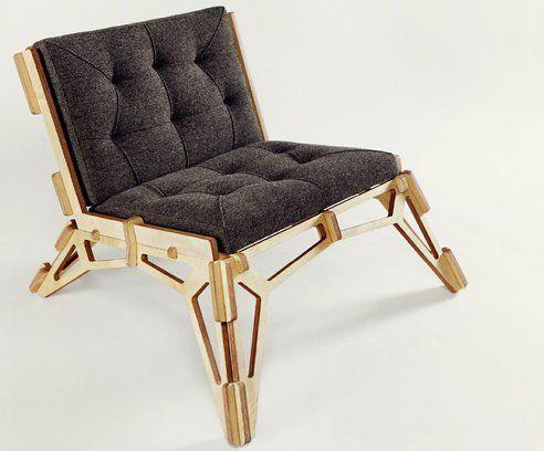 Chair 23D by Gustav Düsing