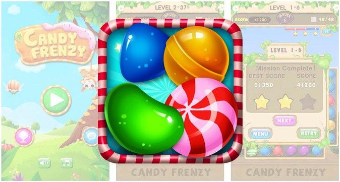 Candy Frenzy 1.6.013 Apk Download Android Puzzle Game