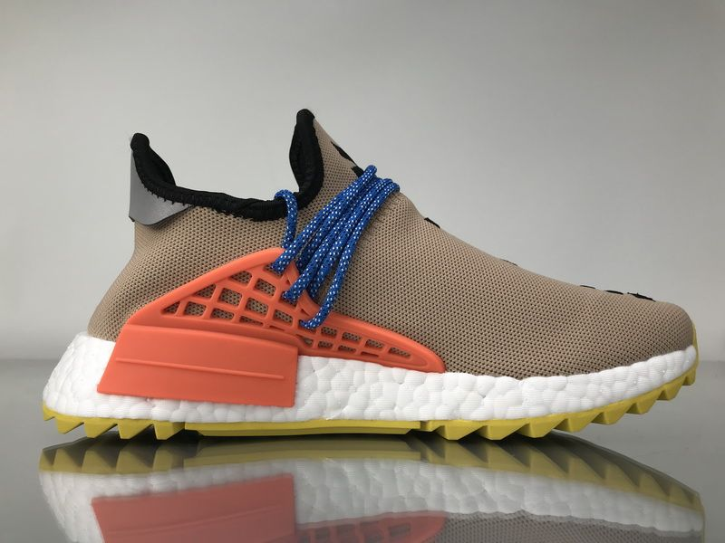 """f6402a4b3 Adidas NMD Human Race Pharrell Williams """"Naked"""" Real Boost AC7361 for  Sale 03"""