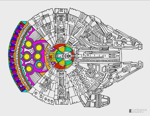 More Free Star Wars The Force Awakens Coloring Pages Star Wars