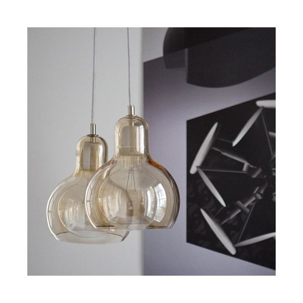 Tradition Mega Bulb Pendel Guld Bulb Pendant Light Mega Bulb Pendant Glass Pendant Lamp