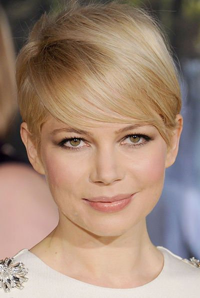 More Michelle Williams Blonde With Warm Highlights Super Short