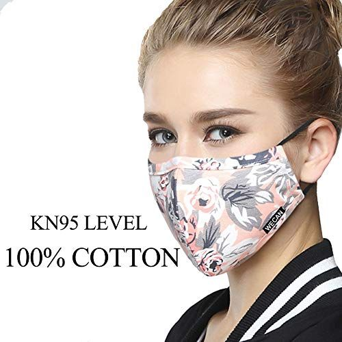 Adult PM 2.5 Pollen Dust Mask Washable Anti-fog Anti Dust Face Mouth Warm Mask