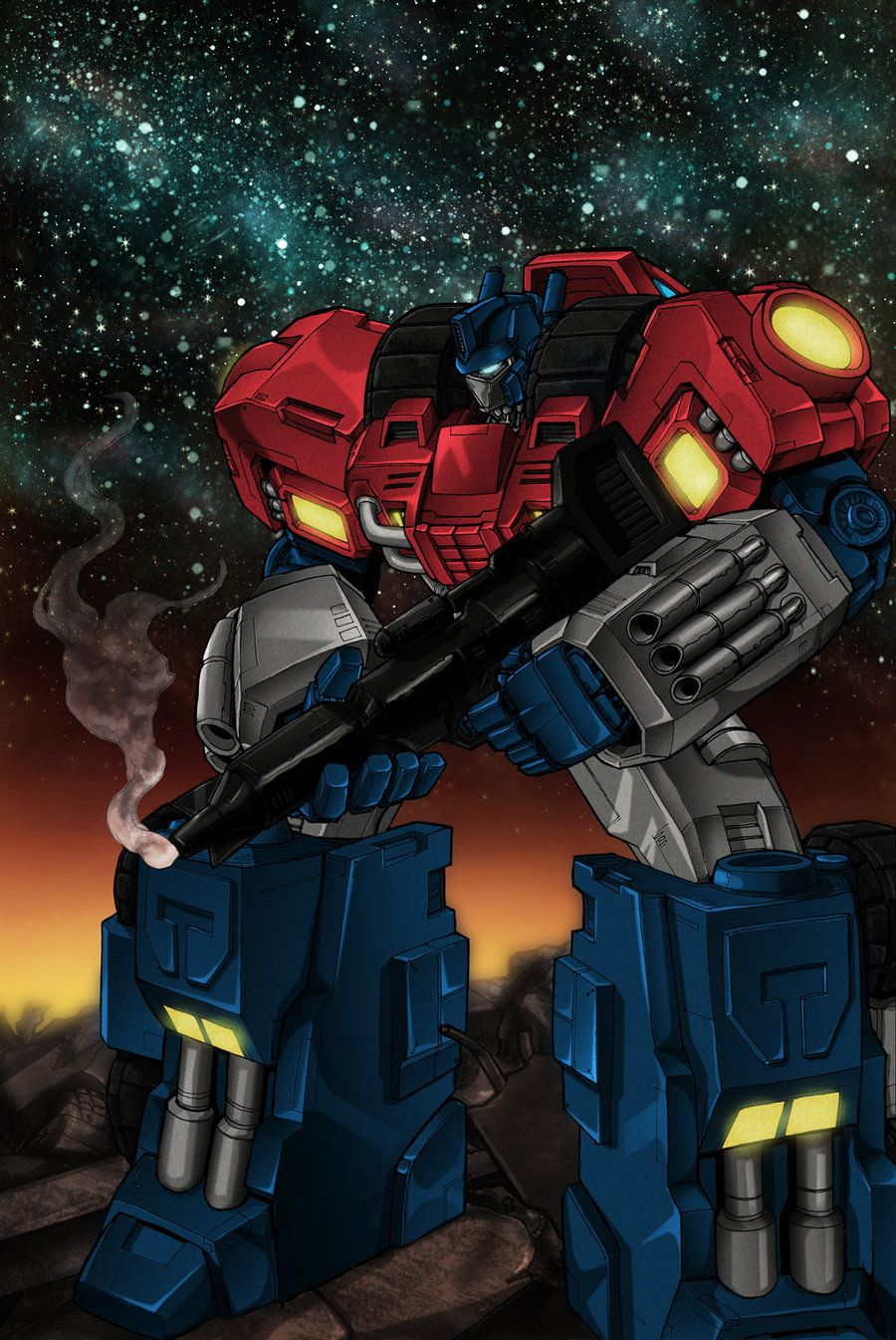 Prime's War Within by wordmongerer