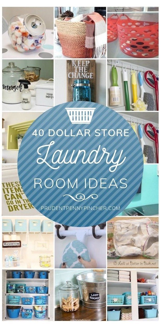 50 Dollar Store DIY Laundry Room Ideas #laundryorganizationideas#diy #dollar #ideas #laundry #laundryorganizationideas #room #store