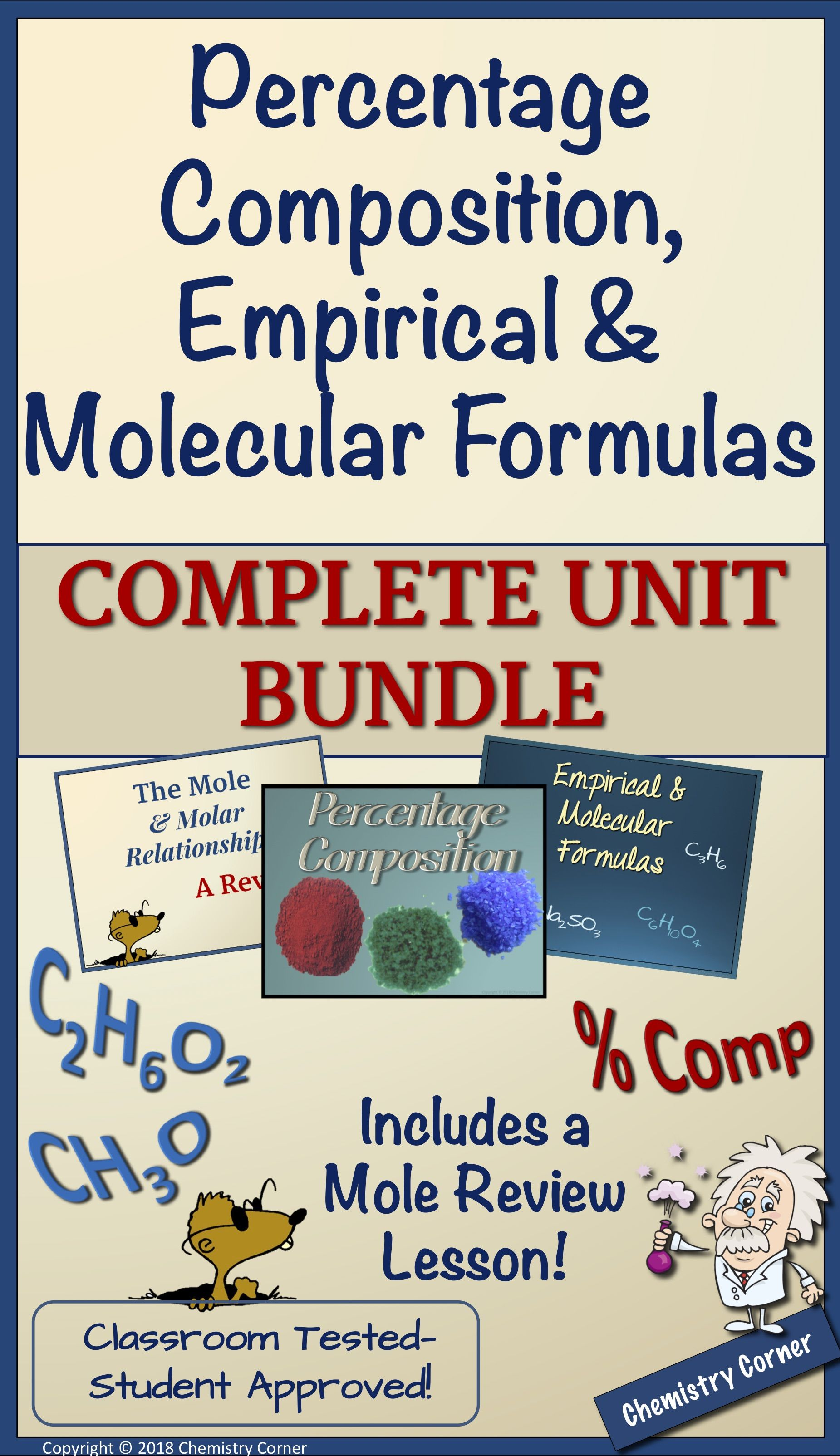 Complete Unit Powerpoints Student Notes Teacher Notes Homework Practice Exit Tickets Doodle Chemistry Lessons Teaching Chemistry Middle School Chemistry