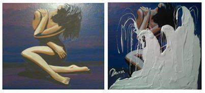 Huile sur Toile Artiste Peintre Dani Zouhir
