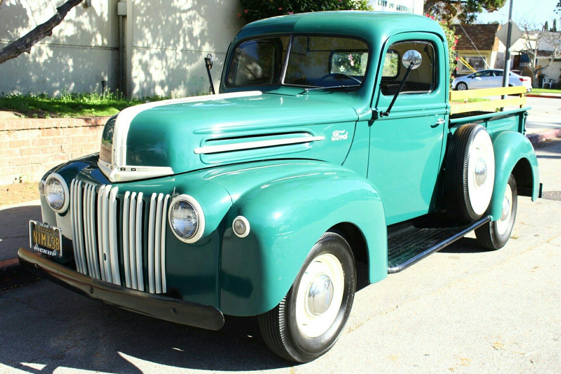 1946 Ford Pickup Classic Cars Trucks Ford Pickup Trucks Old Trucks For Sale