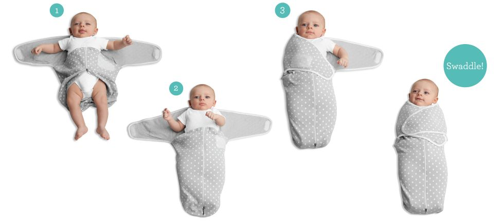 Simple Swaddle Instructions Justbornbaby Just Born Baby