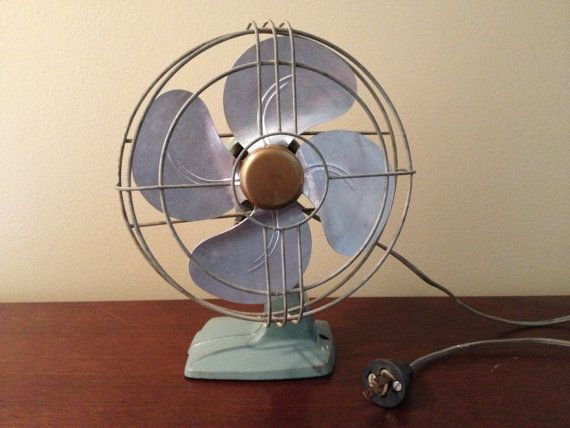 Vintage Electric Oscillating Fan By Forwalls On Etsy 35 00