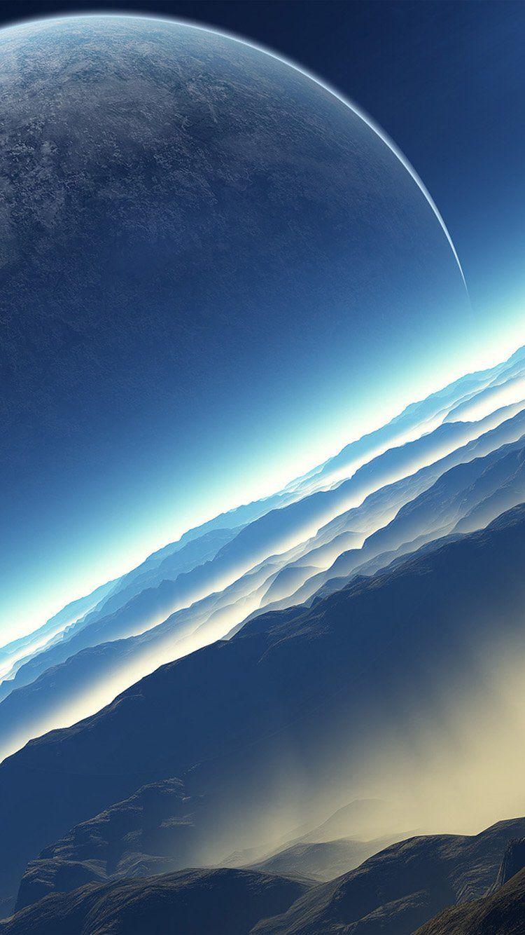 Aq81 Space New Planet Mars Fond Ecran Gratuit Fond D Ecran Science Fiction Paysage Lune