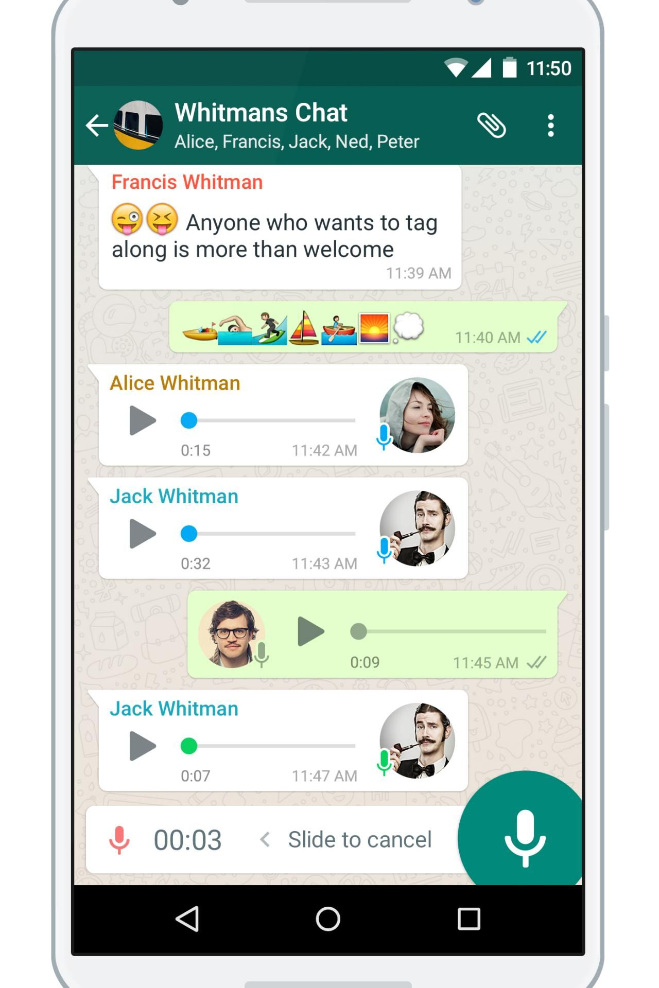 Send free Coco invitations by text message right from your