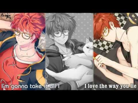 Nightcore Love The Way You Lie Mashup Switching Vocals