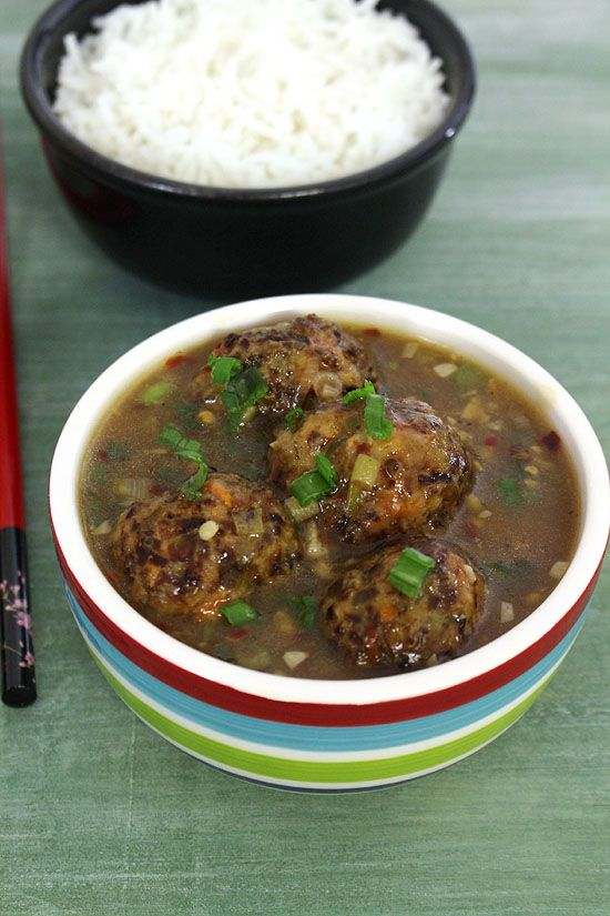 Veg manchurian recipe manchurian recipe gravy and indo chinese food veg manchurian recipe forumfinder Image collections
