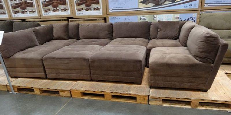 hayden sectional sofa costco corner bed uk tesco marks and cohen 8 piece modular fabric