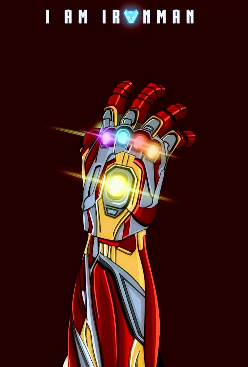 Iron Man Iron Infinity Gauntlet Avengers End Game Iron Man