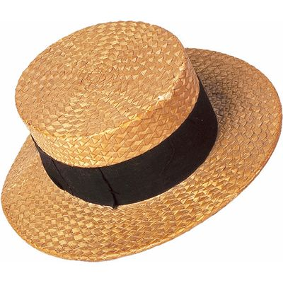 Image Of Boater Boater Hat Meaning Straw Boater