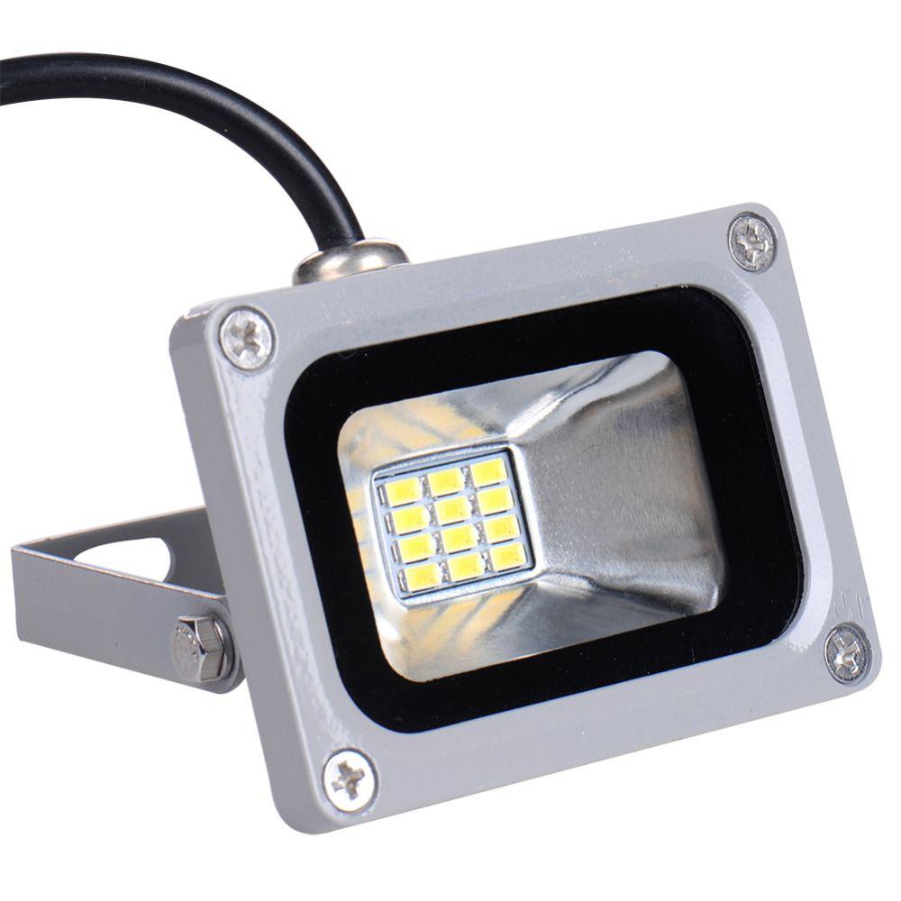 12ボルト10ワットledフラッドライトライト防水ip65投光器景観led