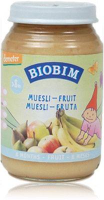 Biobim Muesli Fruit 8m Demeter