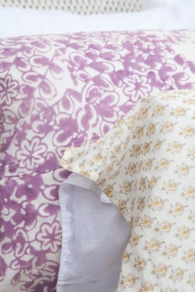 Deep Floral Pillow Case | Floral