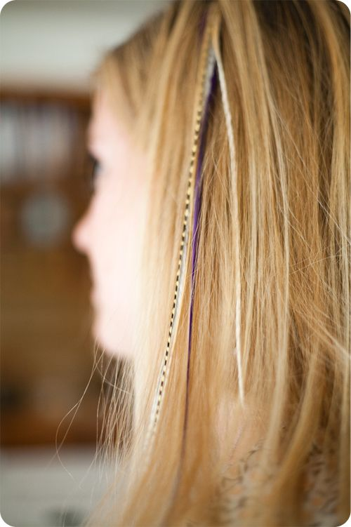 Diy Hair Feather Extensions Whatever Is Beautiful Pinterest
