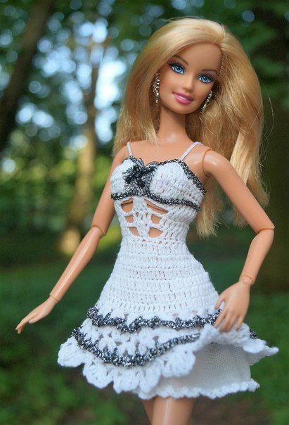 Elizaveta Chemeris   barbie dress   Pinterest   Puppenkleider ...