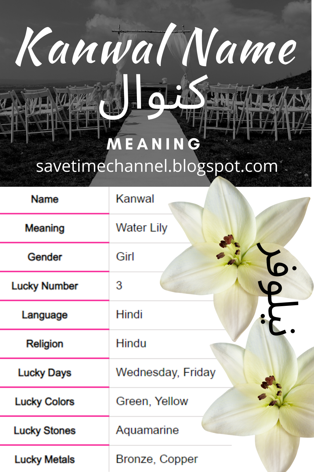 Kanwal Name Meaning In Urdu Girl Name کنوال Names With Meaning Names Lucky Number