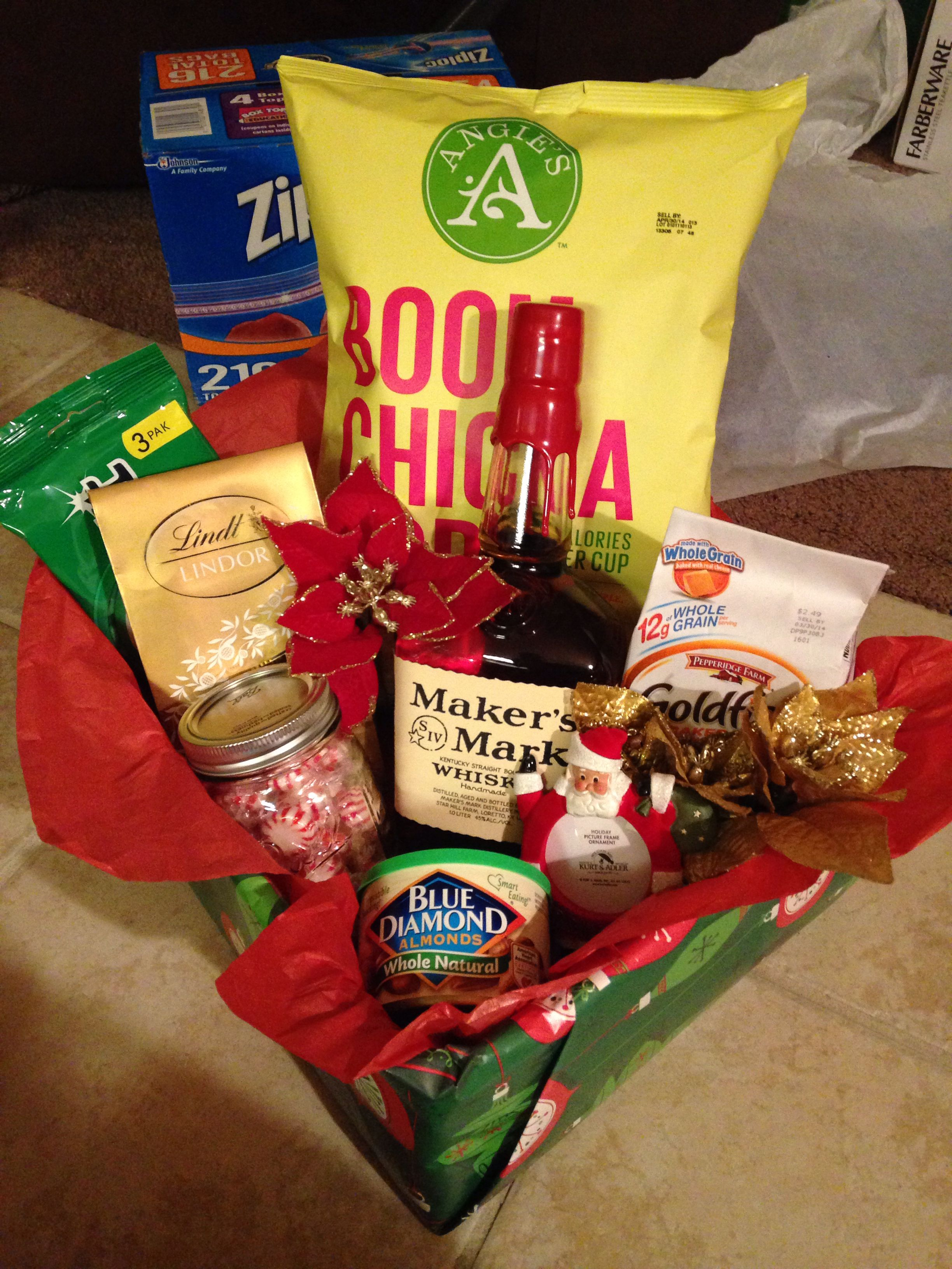 Gift basket for your boss during the holidays | Homemade ...