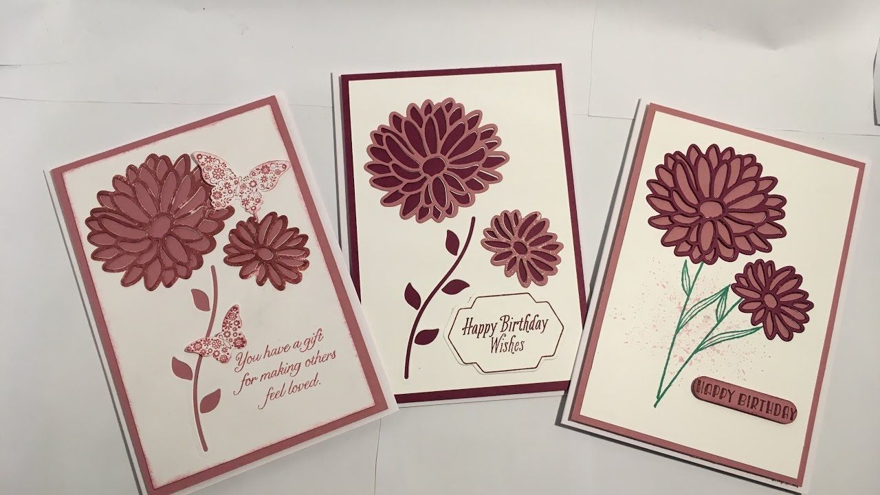 Stylish stems stampin up birthday card youtube su special reason