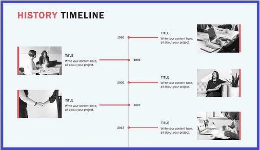 Historical Timeline Template 4+ Free Printable PDF, Excel  Word - timeline spreadsheet template