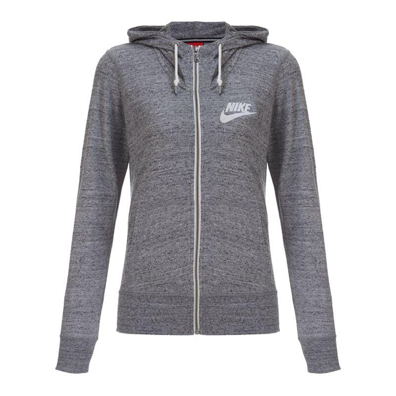 Original NIKE women's jacket 545666-091-607 Hoodie sportswear free ...