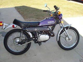 Yamaha Enduro 100 Enduro Motorcycle Vintage Motocross Yamaha Bikes