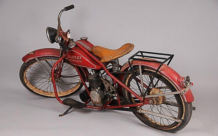 Sold Price Simplex Automatic Motorcycle C 1953 1960 By Simplex Manufacturing Corporation New Orleans La The Only Motorcycle Manufacturer Located In The Am Motorcycle Manufacturers Classic Motorcycles Old Bikes