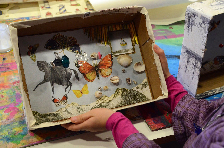 magnifique bo te po tique au parfum surr aliste ateliers enfants histoire de boites. Black Bedroom Furniture Sets. Home Design Ideas