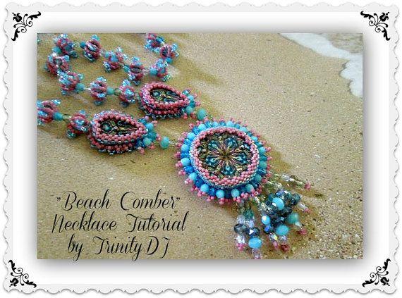 BP-PEY-049 Beach Comber Necklace di TrinityDJ su Etsy