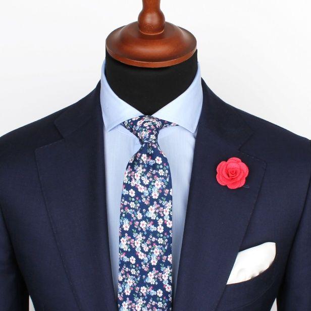 Admiral Floral Tie – Ties – Accessories