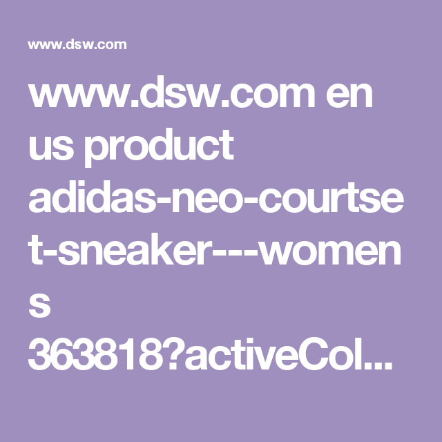 en del neo - courtset donne scarpe adidas