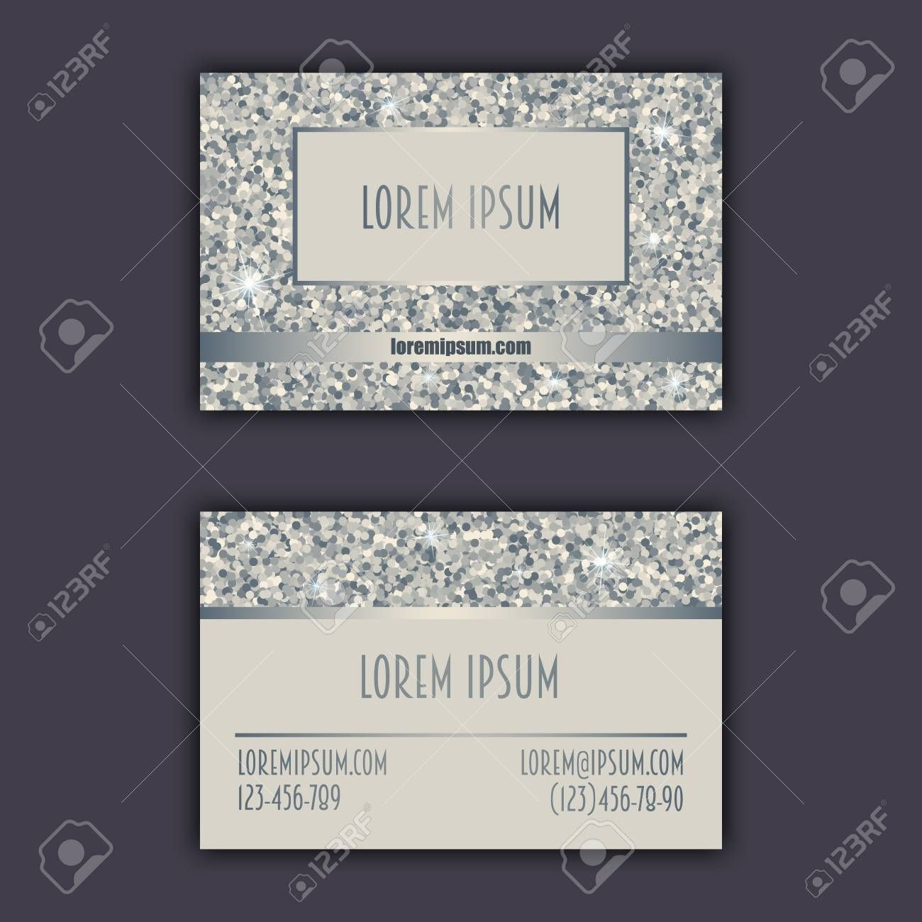 Business Card Templates With Glitter Shining Background For Christian Business Cards Templat Free Business Card Templates Card Templates Free Id Card Template