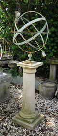 Armillary Vintage Garden Vintage Globe Garden Decor