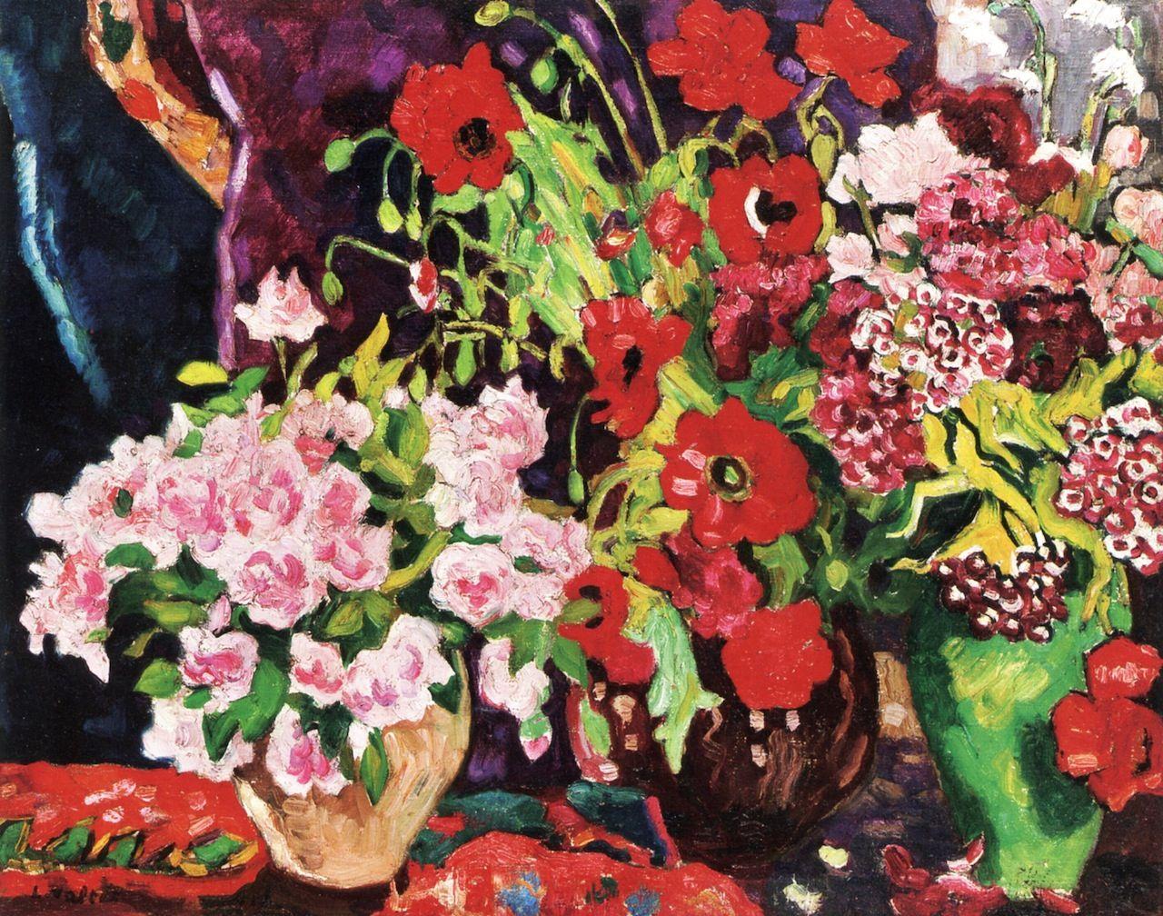 Three vases of flowers louis valtat 1925 art pinterest three vases of flowers louis valtat 1925 reviewsmspy