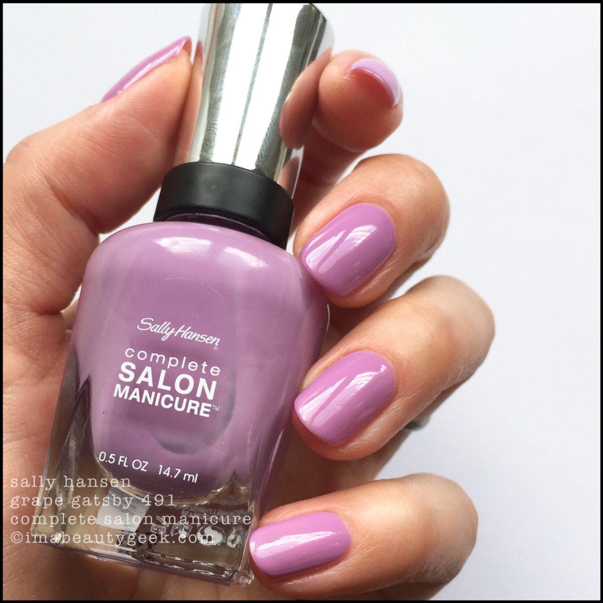 sally hansen summer 2017 collection - grape gatsby   nail colors