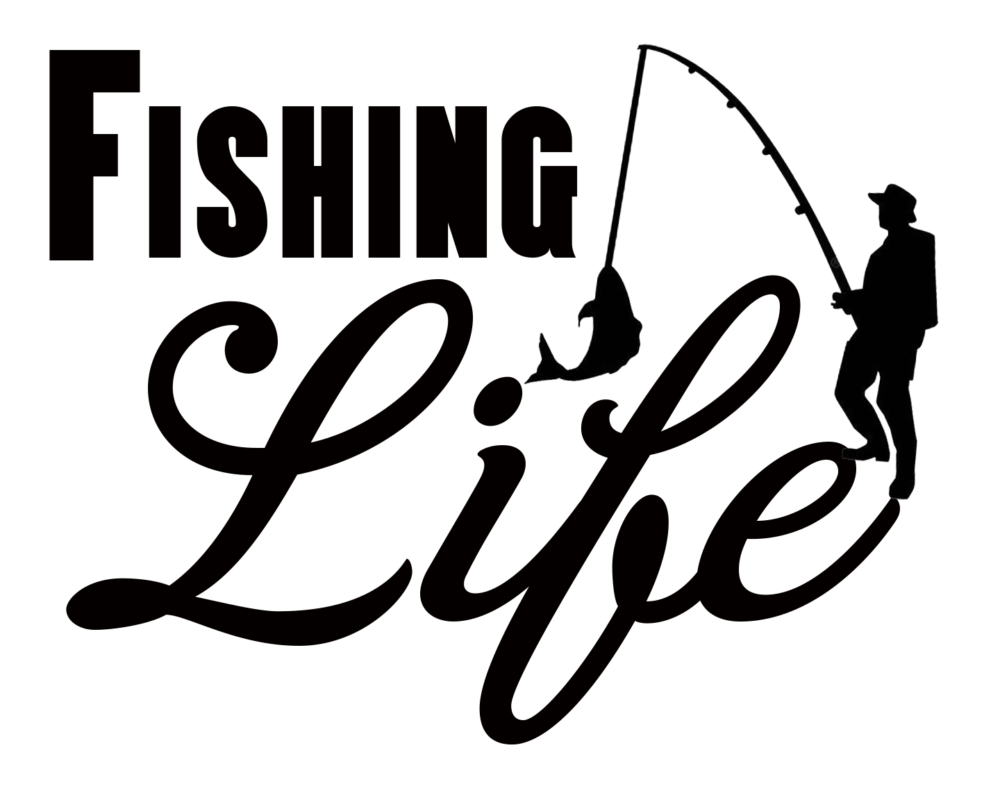 Free Fishing Life SVG File Monogram fishing shirt, Svg