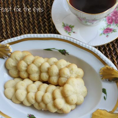 Spritz Cookies/Swedish Butter Cookies @keyingredient