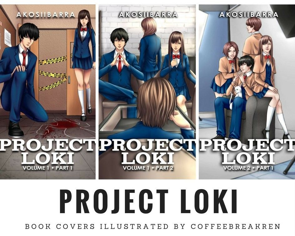 Project Loki Volume 1 Part 1 And 2 And Volume 2 Part 1 Book