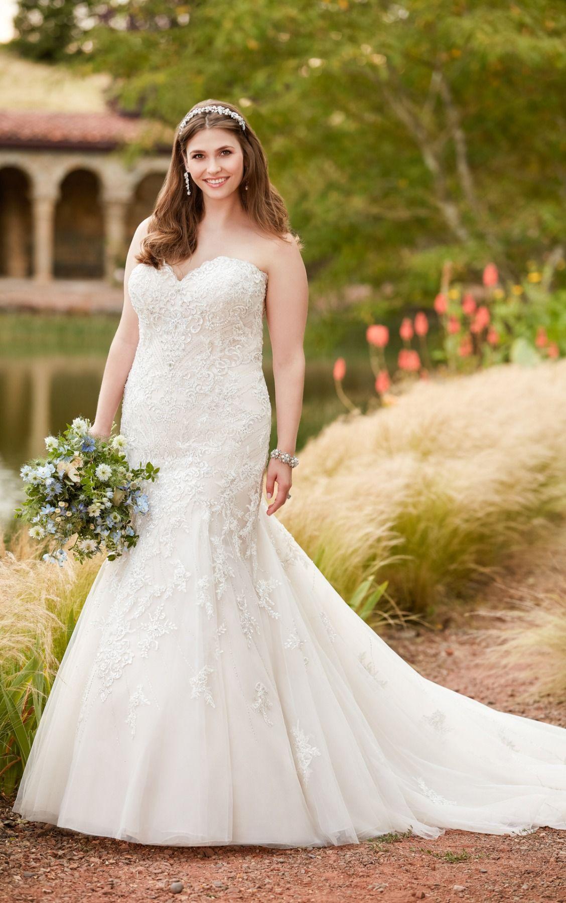Size 24 wedding dress  Mermaid Wedding Dresses  Mermaid Wedding dress and Weddings