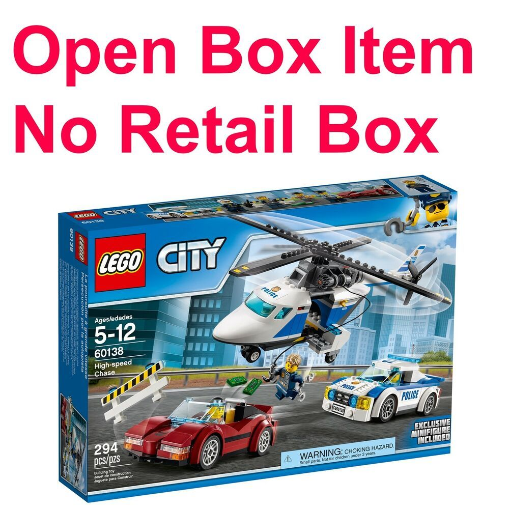 60138 294pcs LEGO City Police High-Speed Chase