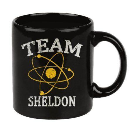 Theory Café Sheldon Big Mug Bang Noir De Tasse Team ybfgY76